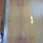 márvány mintás nyomtatott konyhai zsírfogó üveglap